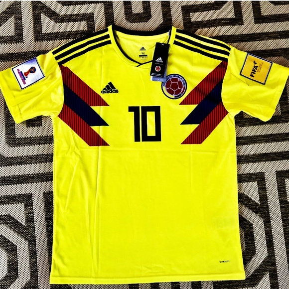 low priced d43aa 1b8f7 2018 Colombia 🇨🇴 World Cup Jersey #10 James NWT